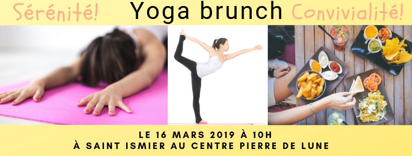 Yoga brunch du 16 mars 2019